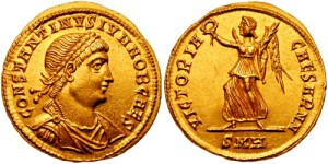 Solidus_Constantine_II-heraclea_RIC_vII_101