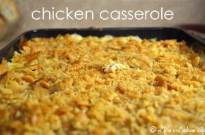 chicken casserole title