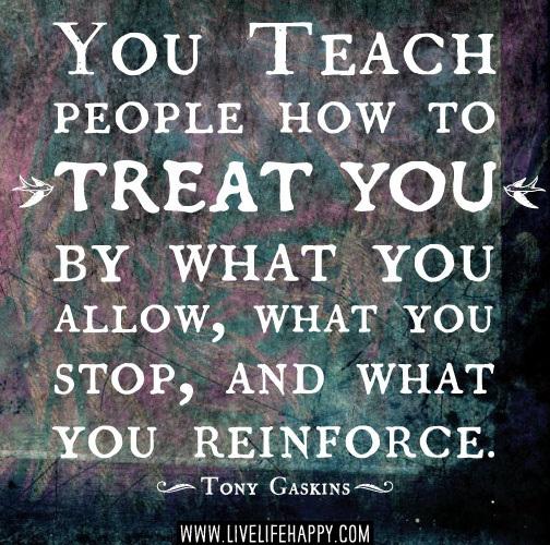 you-teach-people