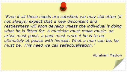 Maslow-Quote