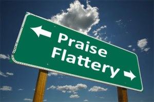Praise-Flattery-sign