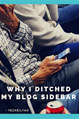Why I Ditched My Blog Sidebar – Guest Post…