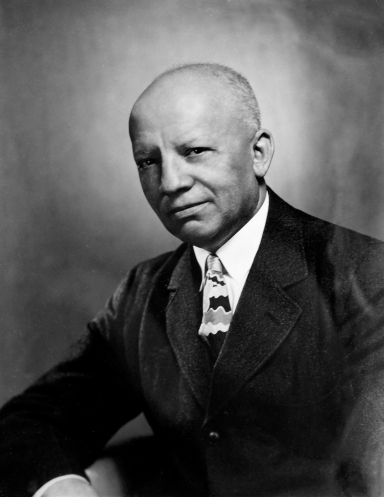 Carter G. Woodson, 1947. Carter G. Woodson Papers, Box II 28, Manuscripts Division.