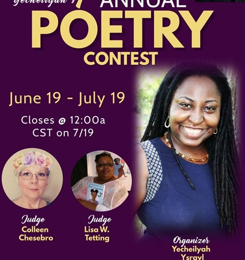 ANNOUNCING: Yecheilyah's 1st Annual Poetry Contest