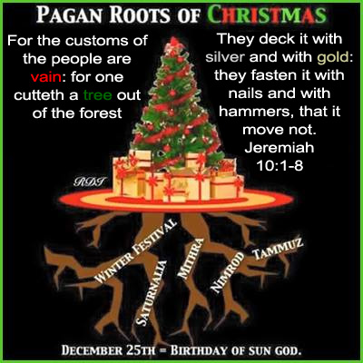 christmas pagan updated