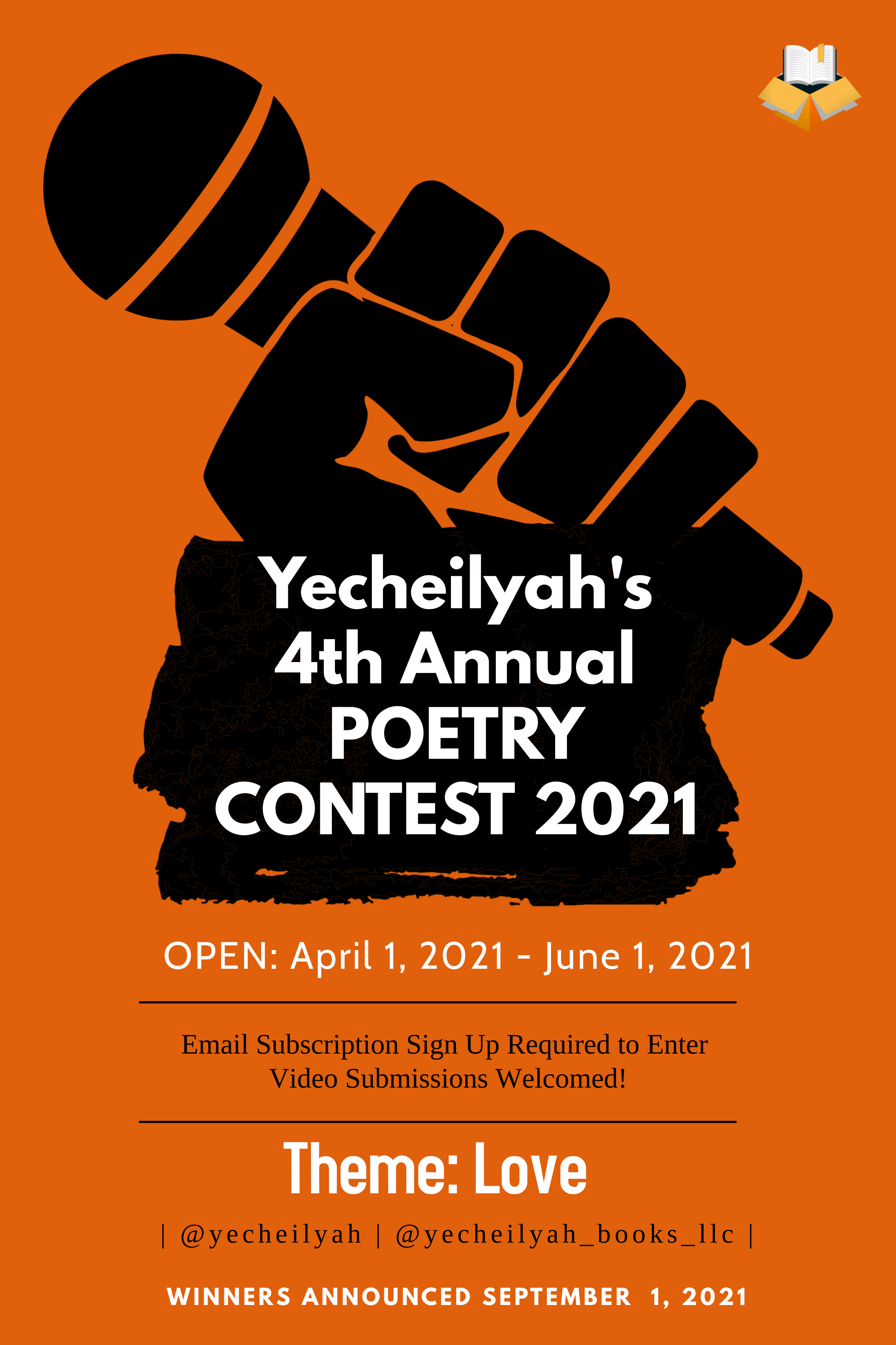 Yecheilyah's 4th Annual Poetry Contest